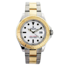 Rolex Yachtmaster 16628 18K Yellow Gold Automatic 40mm Mens Watch