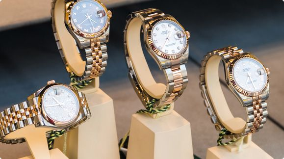 4 Luxurious Rolex Watches