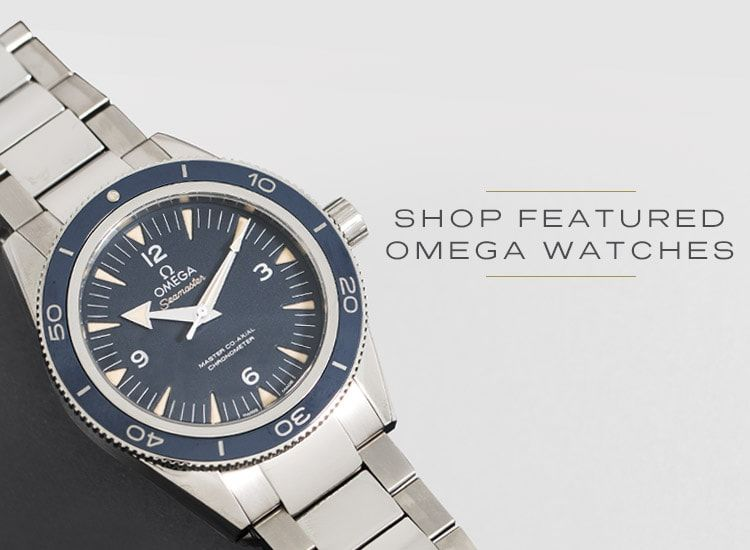 Shop Featured Omega Watches