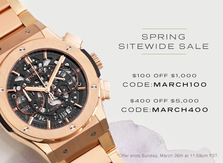 Spring Sitewide Sale