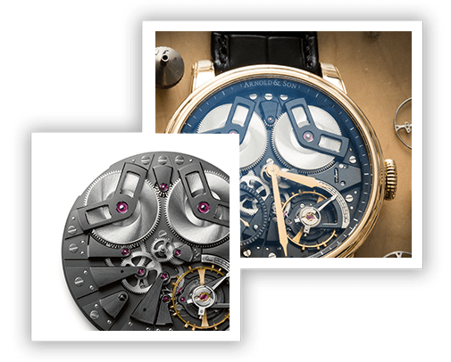 Arnold & Son's Movements and Calibres
