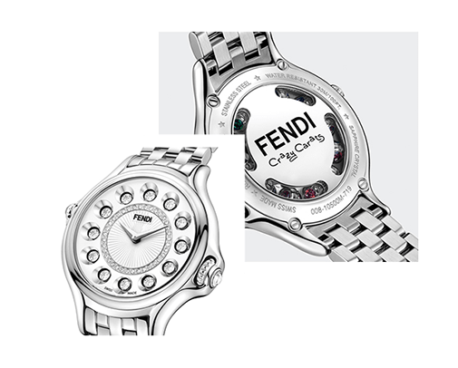 Fendi Timepieces Crazy Carats Collection