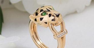 shop cartier panther motif